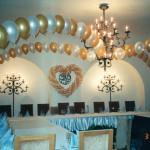 арки из воздушных шаров на свадьбе