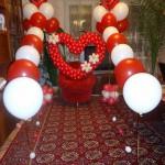 2. Сердце (900 руб) шар на грузике 35 (45)руб