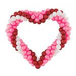 сердце из шаров купить