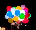 светящиеся воздушные шары купить